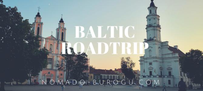 バルト三国(リトアニア、ラトビア、エストニア)に行ってきました。