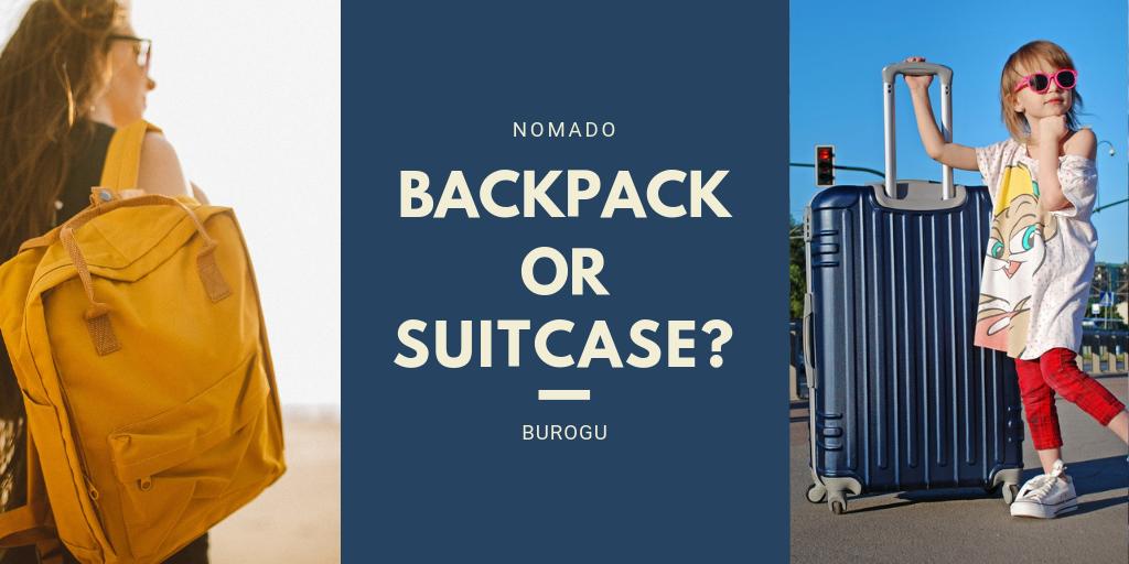 バックパック スーツケース 比較